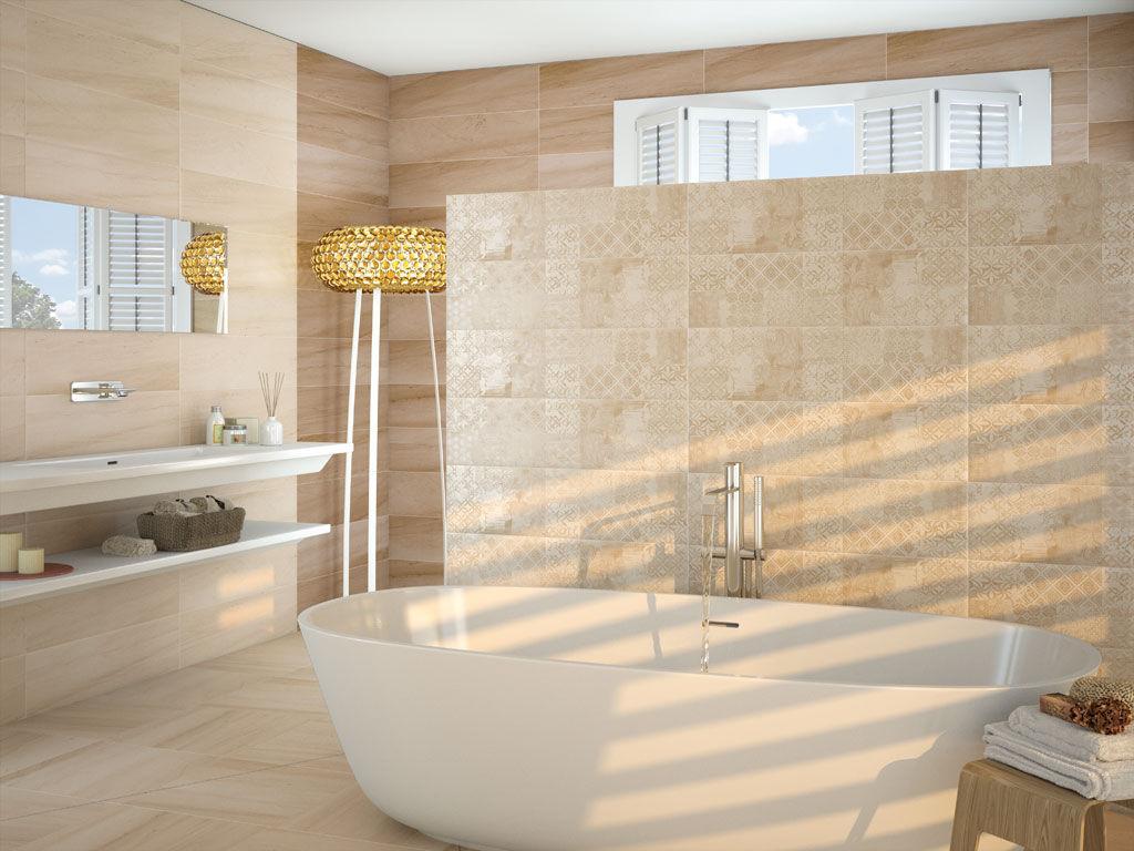 Преимущества керамической плитки в вашей ванной комнате.