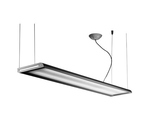 Подвесной светильник флюоресцентный квадратный линейный