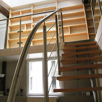 Ограждение из нержавеющей стали / решетчатое / для интерьера / для лестниц