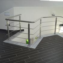 Ограждение из нержавеющей стали / решетчатое / для интерьера / для кровати-чердака