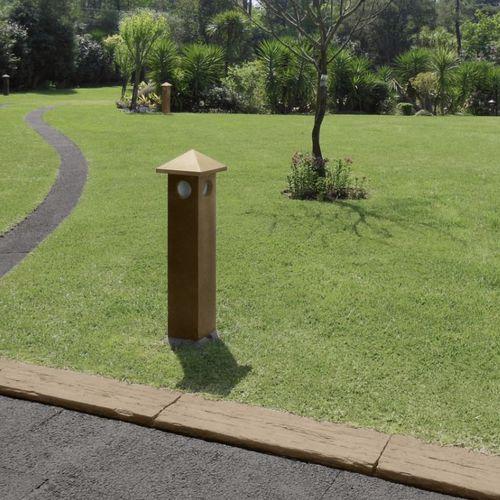 столбик освещения для сада / классический / из бетона / LED