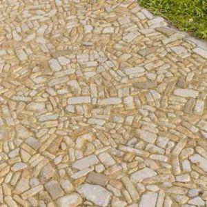 плитка для улицы из натурального камня / с возможным проездом транспорта / для улицы