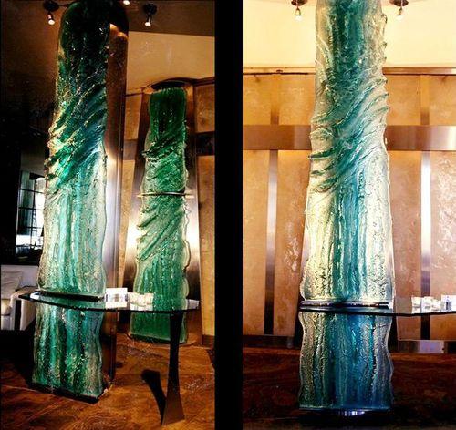 скульптура из стекла / для общественных учреждений