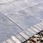 плитка для улицы из бетона / противоскользящая / текстурированная / для экстерьера