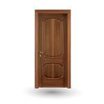 дверь для помещения / створчатая / из дерева