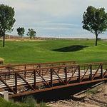 мост с решеткой / из стали / пешеходный