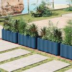 кадка для садовых растений из полиэтилена / современная
