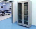 модульный шкаф / современный / из стали / с распашной дверью