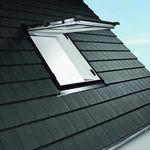 проекционное мансардное окно / из ПВХ / с двойным остеклением / с тройным остеклением