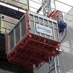 подъемная платформа для строительства / для экстерьера