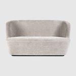 современный диван / из ткани