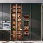 мебельная стойка для кухни / современная
