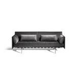 модульный диван / современный / из ткани / из кожи