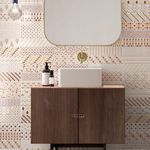 кафельная плитка для интерьера / настенная / из керамики / 25x75 см