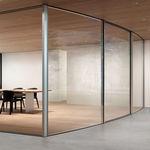 раздвижное панорамное окно / из металла / с двойным остеклением