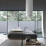 кухонная вытяжка блок / со встроенным освещением / уникальный дизайн / малошумная