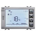 программируемый термостат / на стену / для кондиционера / с цифровым индикатором