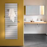электрический полотенцесушитель / из металла / современный / для ванной комнаты