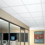 подвесной потолок из минерального волокна / из плит / акустический / огнестойкий