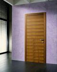 дверь для помещения / качающаяся / из дерева / вмонтированная