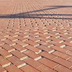 плитка для улицы из клинкера / из керамики / для пешеходов / для общественных мест