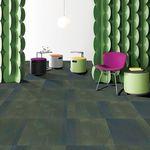 ковровое покрытие из плит / петлевое / из нейлона / профессиональное