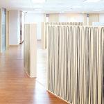 разделитель пространства из ткани / для профессионального использования