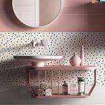 настенная кафельная плитка / из керамики / однотонная / с геометрическим рисунком