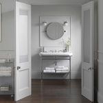 настенный Зеркало для ванной комнаты / современный / круглый / из стали