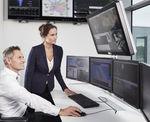 монитор для системы видеонаблюдения / с большим экраном / цвет