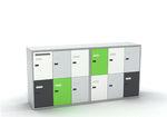 шкафчик для раздевалки из металла / с кодом / для хранения