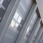 откидное окно / из нержавеющей стали / для коммерческих зданий