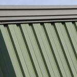ребристое листовое железо / из стали / крышки / для стены