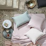 наволочка для подушки из хлопчатобумажной ткани / из натурального волокна / из полиэстера