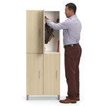 шкафчик для раздевалки из металла / для общественных учреждений / для офисов