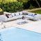 модульный диван / скандинавский дизайн / для сада / из алюминияSPACE : 6540 by Foersom & Hiort-Lorenzen Cane-line A/S