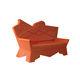 диван уникальный дизайн / для экстерьера / из пластика / от Alessandro Mendini