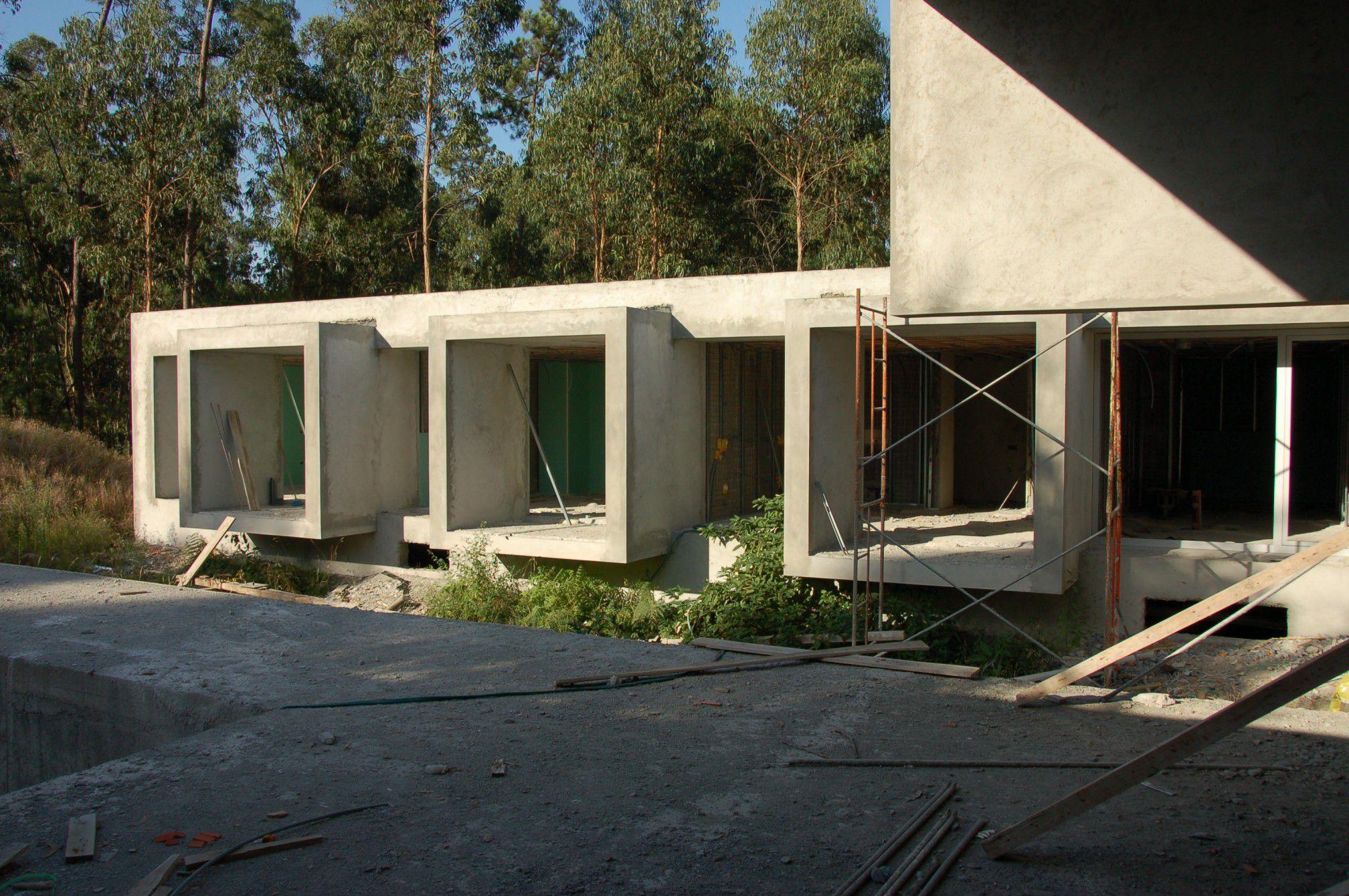 модульный дом бетон