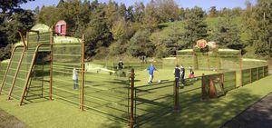 спортивная площадка для коллективной организации
