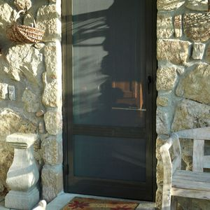 створчатая противомоскитная сетка / для двери