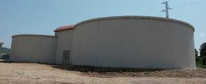 воздушный резервуар / сборный / для хранения воды / из железобетона