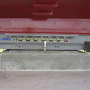 структурный вспомогательное устройство / сферический / из стали / для строительства моста