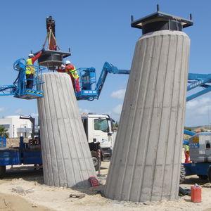 структурный вспомогательное устройство / из эластомера / из эластомера / для строительства моста