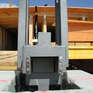 структурный вспомогательное устройство / из стали / для строительства моста