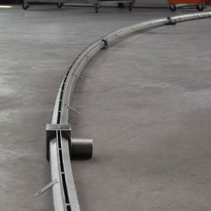 лоток канализации из нержавеющей стали / щелевой / для зданий / по индивидуальному заказу