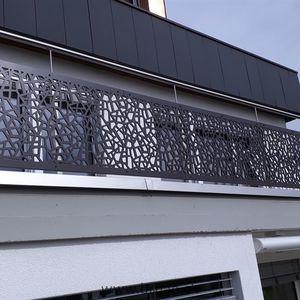 балкон с панелями