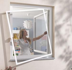 ролетная противомоскитная сетка / неподвижная / створчатая / для окна