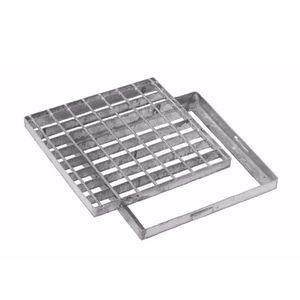 дренажная решетка из гальванизированной стали / стальная электросварная / для общественных мест