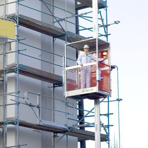 подъемная платформа для стройки