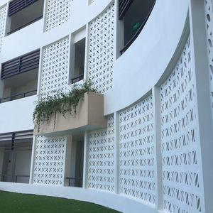 перфорированный бетонный блок